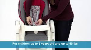 Graco High Chair Graco Tablefit Highchair 1852647 Youtube