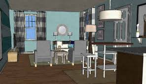 virtual living room design simple furniture impressive and