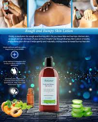 amazon com rough and bumpy smoothing skin lotion best to formulated with ingredients like aloe vera and unique moisturizers such as murumuru butter apricot kernel and karanja oils as well as a combination of
