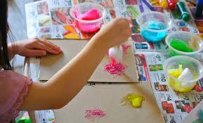 b is 4 spring rainbow kids u0027 craft and activities