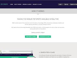 online class platform zeqr a new online knowledge platform for businesses