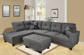 Modern Grey Sectional Sofa Living Room Grey Sectional Couch Grey Sectional With Grey Couches