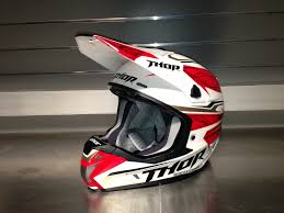 motocross helmet and goggles product report thor verge helmet transworld motocross