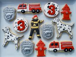 oh sugar events firefighter cookies