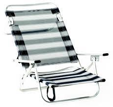sieges de plage fauteuil de plage en aluminium maribel é bleu