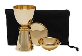 travel communion set church supplies sacred vessels chalices cases autom