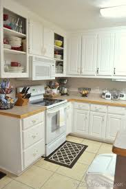 best white paint for kitchen cabinets home depot how to re paint your yucky white cabinets the frugal homemaker