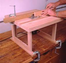 Woodworking Plans For Small Tables by Diy Portable Bench Top Router Table Woodworking Ideas