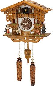 Chalet Style Cuckoo Clock Quartz Movement Chalet Style 28cm By Trenkle Uhren