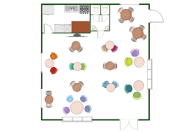 restaurant floor plans samples how to create restaurant floor