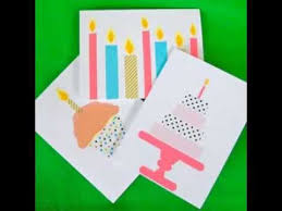 good diy birthday cards ideas ideas youtube