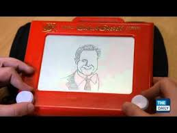 amazing etch a sketch drawing youtube