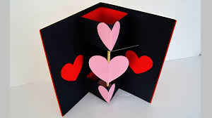 twirling heart valentine u0027s card learn how to make a greeting