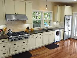 kitchen endearing painted white shaker kitchen cabinets 1