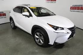 lexus nx sales volume pre owned 2017 lexus nx nx turbo sport utility in escondido 59741