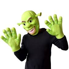 halloween props shrek masks animal full latex masquerade