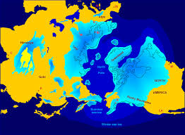 Future Map Of North America by Quaternary Glaciation Wikipedia