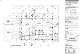 working drawing floor plan current project city house under construction white ant studio