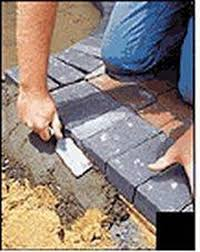 How To Install A Paver How To Install Concrete Paver Edging Hunker