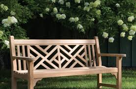 Wooden Patio Bench by Outdoor Wooden Bench Camelback Outdoor Wooden Bench In Black