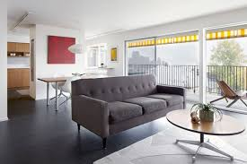 Living Spaces Dining Sets by Apartment Modern Living Space Design With Sophisticated Gray