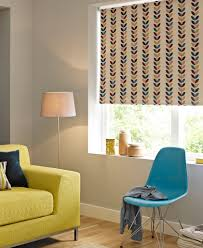 leaf design floral patterned blackout roller blind from only 4 99