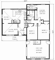 cottage floor plans ontario 1361 sq ft change to open concept living backsplit house plan