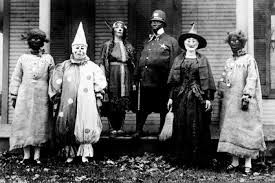 Scariest Halloween Costume Creepy Halloween Costumes Early 20th Century