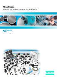 atlas copco sistema de tubería para aire comprimido atlas copco