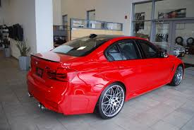 red bmw 2016 say hello to rarri 2016 individual ferrari red competition package m3