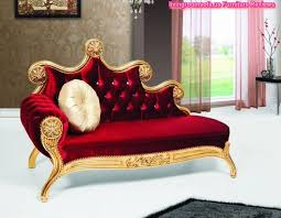 Cleopatra Chaise Lounge Josephine Red Velvet Carved Chaise Lounge Design