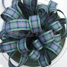 tartan ribbon berisfords tartan ribbon 16 flower of scotland