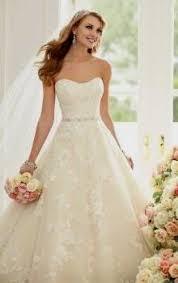 lace wedding dresses uk strapless lace wedding dress a line naf dresses