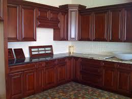 Modern Cherry Kitchen Cabinets Glaze Kitchen Cabinets White Distressed Kitchen Cabinets White