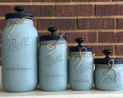 country canisters for kitchen rustic canisters etsy