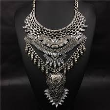 chunky fashion necklace images Avignon large statement necklace fashion pickle jpg