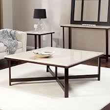 travertine top coffee table travertine coffee table amazon com