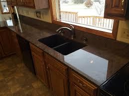 black countertop with black sink granite america dark granite w granite composite sink