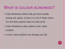 colour blindness ppt by meera qaiser