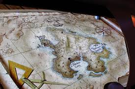 Map Of Neverland Pralines And Crunches Disney Cruise Pirate Night