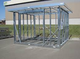 frame steel framed house plans