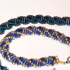 bead rope necklace images National beading week tutorial dutch spiral rope london jpg