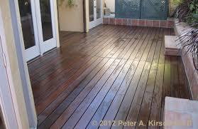ipe wood deck west hollywood