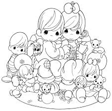 244 coloring pages precious moments images