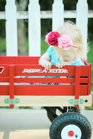 Radio Flyer Tricycle Bell Radio Flyer Red Wagon Anniversary Giveaway Lipgloss And Crayons