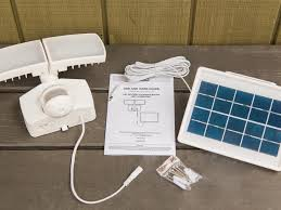 how to install security light how to install a solar panel security light hgtv