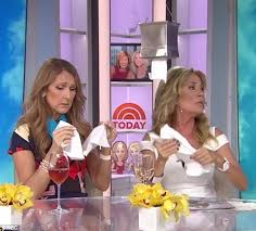 celine dion and kathie lee gifford bond over losing their husbands