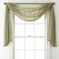Scarf Curtains Scarf Valances Curtains Drapes For Window Jcpenney