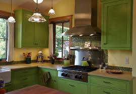 colourful kitchen cabinets kitchen stupendous small kitchen color idea with mosaic backsplash