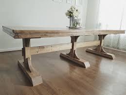 Best  Trestle Dining Tables Ideas On Pinterest Restoration - Trestle kitchen tables